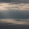Crepuscular rays Across the Somerset Levels - 2