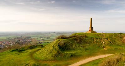 The obelisk on Ham Hill