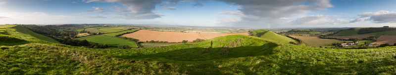 Somerset Levels from Corton Beacon