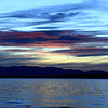 Sunset Over Olympic Peninsula