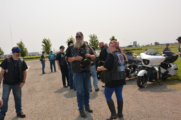 Robert and Shelly Bryson of Herrick are members of Road Riders for Jesus Chapter 70. Dawn Schabbing photo