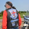 Don Lasher of Carmel, Indiana, a Road Rider for Jesus, which is a motorcycle ministry, walks toward his motorcycle. Dawn Schabbing photo
