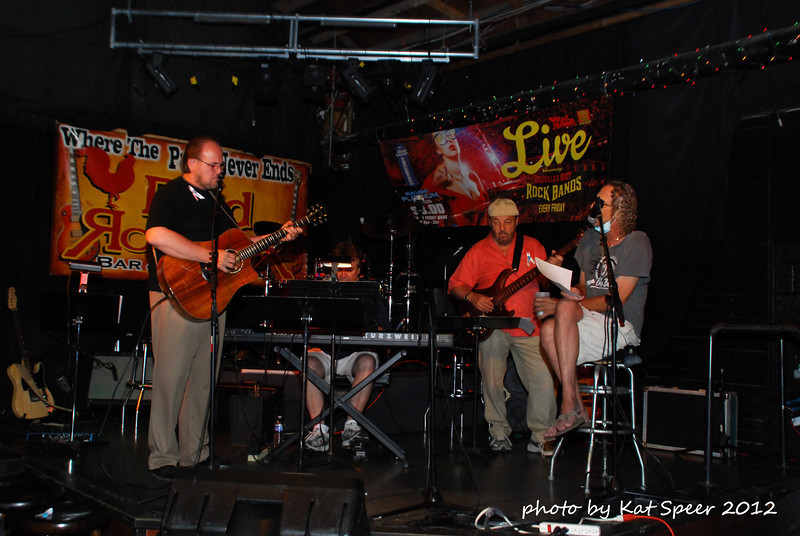 20120612 Marshall Law Benefit Red Rooster Nashville1 Randy Dorman w Turbo w Chuck Jacobs w Marshall Law