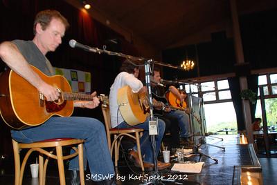 Smoky Mountains Songwriters Festival 2012 11 Clay Mills w Marty Dodson w BobbyTomberlin w Chris Wallin