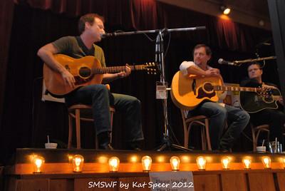 Smoky Mountains Songwriters Festival 2012 27 Clay Mills w Marty Dodson w BobbyTomberlin