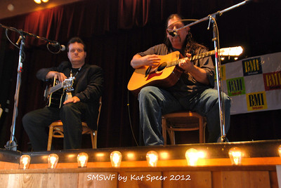 Smoky Mountains Songwriters Festival 2012 32 Bobby Tomberlin w Chris Wallen