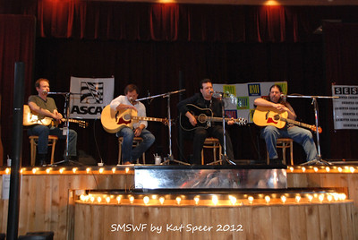 Smoky Mountains Songwriters Festival 2012 17 Clay Mills w Marty Dodson w BobbyTomberlin w Chris Wallin