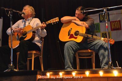 Smoky Mountains Songwriters Festival 2012 47 Jim Glaser w Chris Wallin