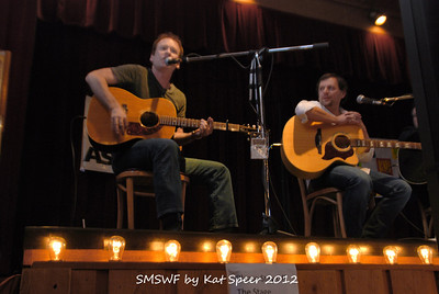 Smoky Mountains Songwriters Festival 2012 26 Clay Mills w Marty Dodson