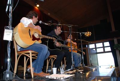 Smoky Mountains Songwriters Festival 2012 12 Marty Dodson w BobbyTomberlin w Chris Wallin