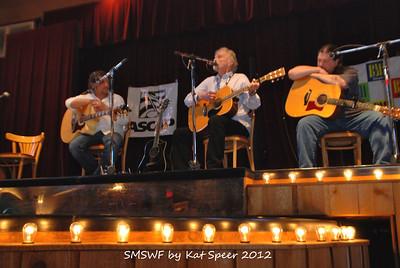 Smoky Mountains Songwriters Festival 2012 46 Marty Dodson w Jim Glaser w Chris Wallin