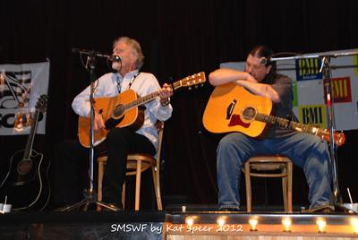 Smoky Mountains Songwriters Festival 2012 48 Jim Glaser w Chris Wallin