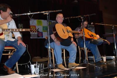 Smoky Mountains Songwriters Festival 2012 9 Marty Dodson w Karen w Chris Wallin