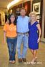 20140917 SMSWF 2015 Planning11 Cyndy Montgomery Reeves w Cowboy Dan w Lisa Harless at Sponsor Regions Bank