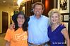 20140917 SMSWF 2015 Planning12 Cyndy Montgomery Reeves w Cowboy Dan w Lisa Harless at Sponsor Regions Bank