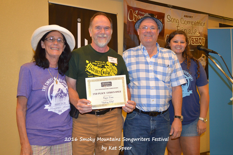 20160827satSMSWFks 118b Song Competition 2nd Place Lyrics Only PUSHING FIFTY by Roger Vines