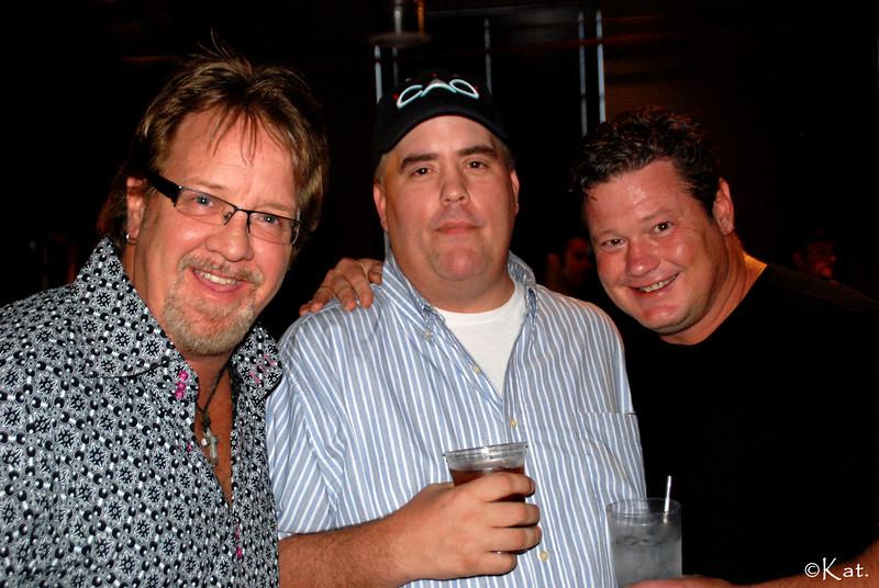 20090714SongsForTheCure_1 Brian White w Pete Sallis w Arlos Smith