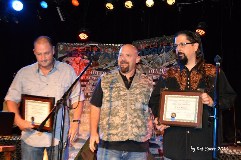 20140915 Operation Troop Aid at The Rutledge13 Gary Chapman w OTA w Chris Wallin