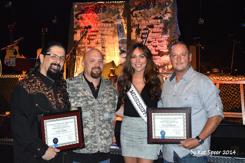 20140915 Operation Troop Aid at The Rutledge18 Chris Wallin w OTA w Miss Mississippi w Gary Chapman