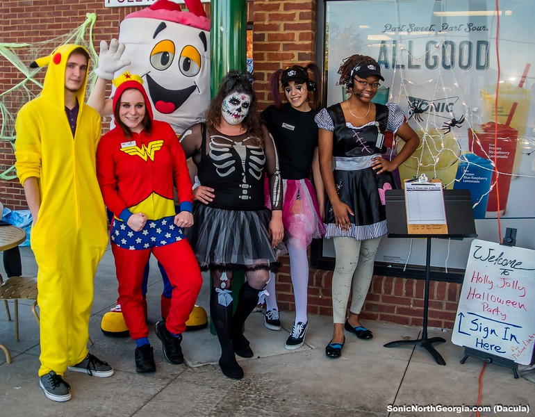 sonic halloween party dacula ga 2017