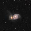 M51 Whirlpool-Galaxie