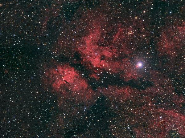IC 1318 Schmetterlingsnebel