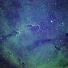 IC 1396A Elefantenrüssel-Nebel (Schmalband)