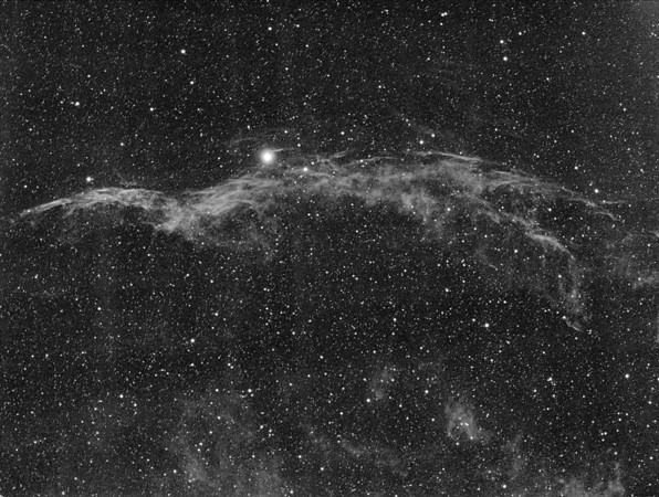 NGC 6960 Schleiernebel West
