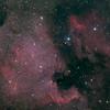 NGC 7000 Nordamerikanebel + IC 5070 Pelikannebel