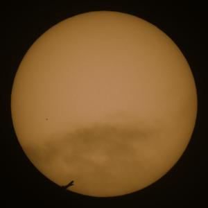 Merkurtransit 11. November 2019 (mit Flugzeug)