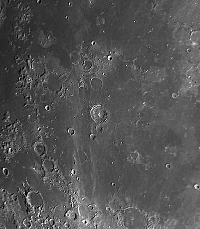 Mond - Bullialdus-Krater