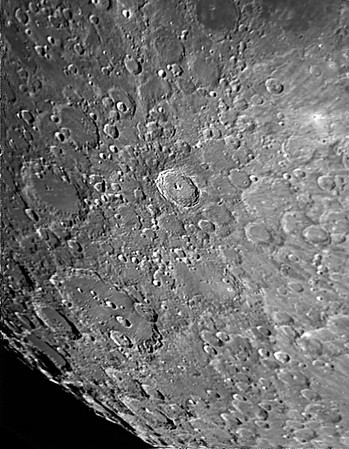 Mond - Tycho-Krater