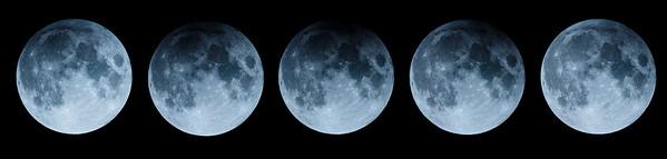 partielle Mondfinsternis 11. Februar 2017