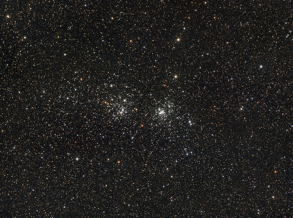 NGC 869 + 884 h und chi Persei