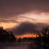moody skies at dawn
