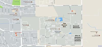 Sonoma State University, The Wolves\' Den - Rohnert Park, California ...