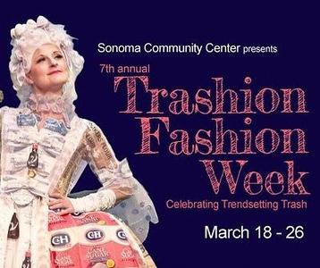 2017 Trashion Fashion Show Sonoma