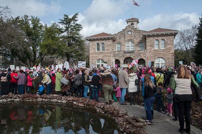 Sonoma Women's March, Jan. 21, 2017