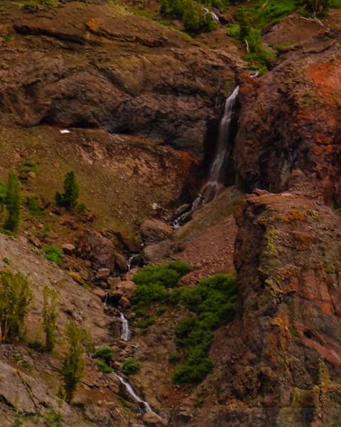 Waterfall on Sardine Creek