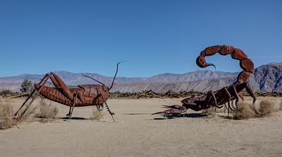HN-6 01 Scorpion and Grasshopper