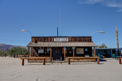 038 The Iron Door Bar, Ocotillo Wells, California.