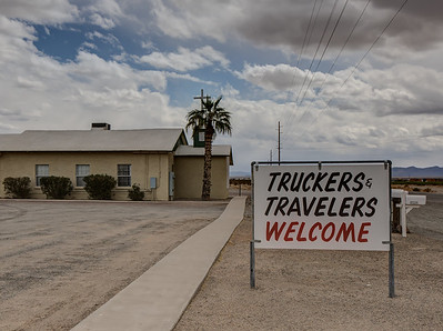 "007 ""Truckers & Travelers Welcome"" Vicksburg Junction, Arizona"