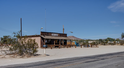 039 The Iron Door Bar, Ocotillo Wells, California. Built in 1969. The site of many real and imagined crimes and other heinous events.