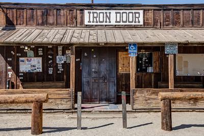 036 The Iron Door Bar, Ocotillo Wells, California.