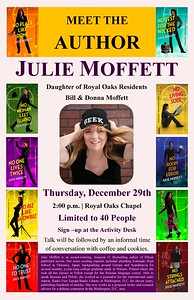 Meet the Author - Julie Moffet