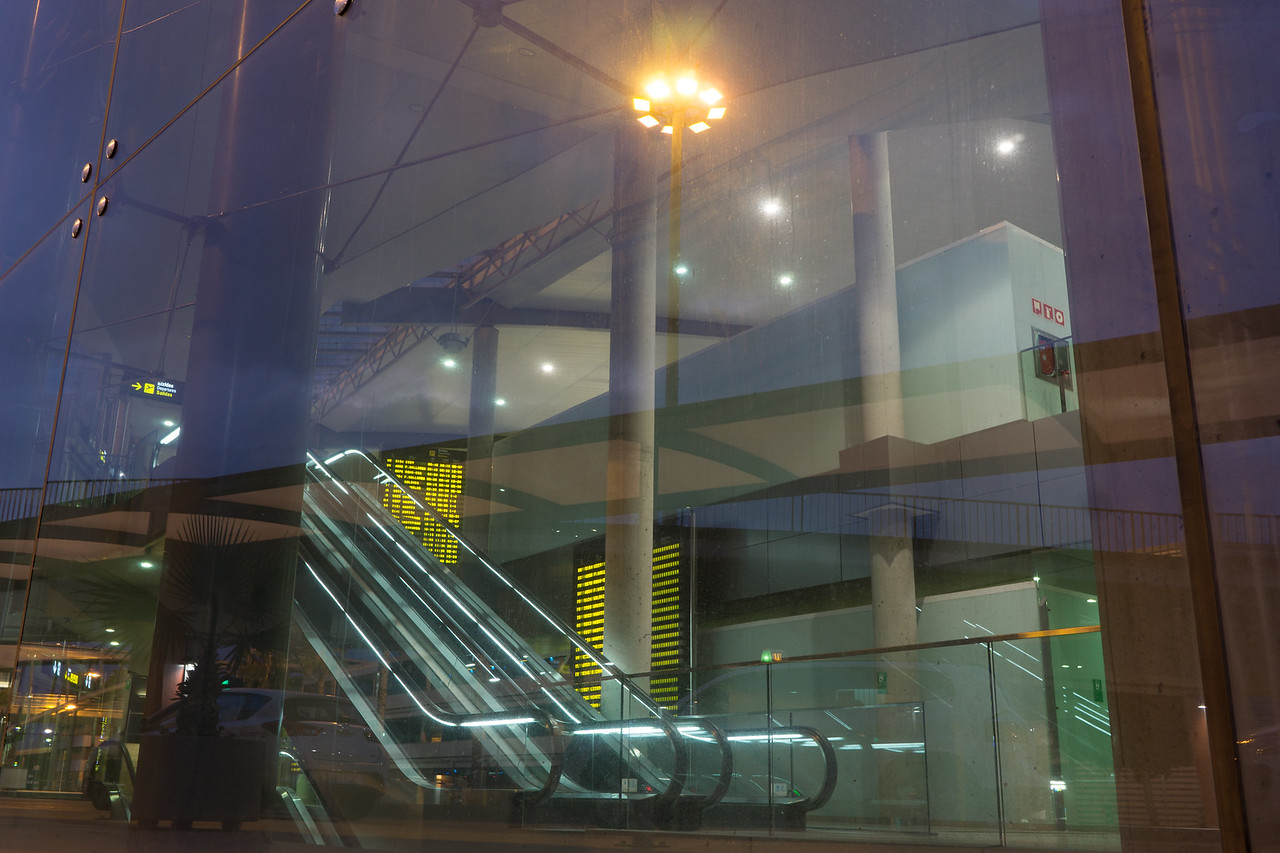 Airport in Early Morning