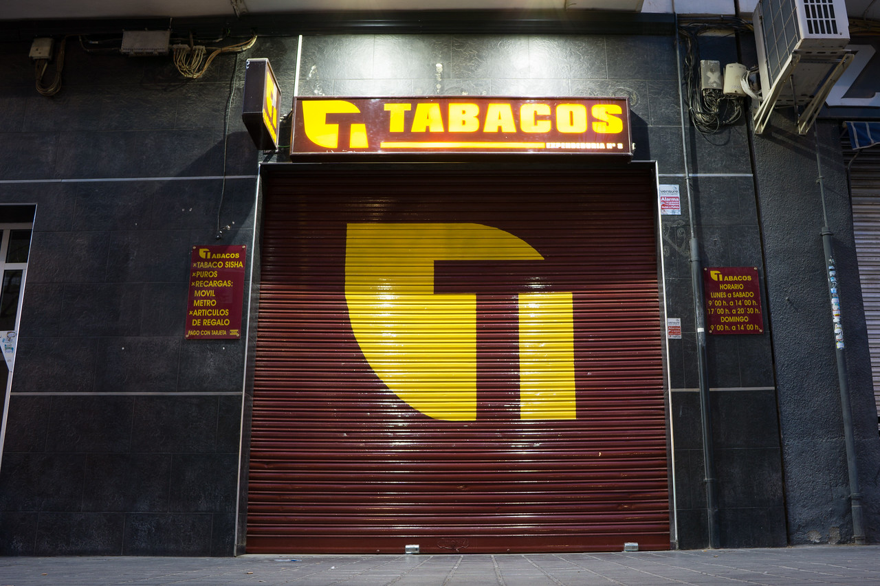 Tabaco Store at Night