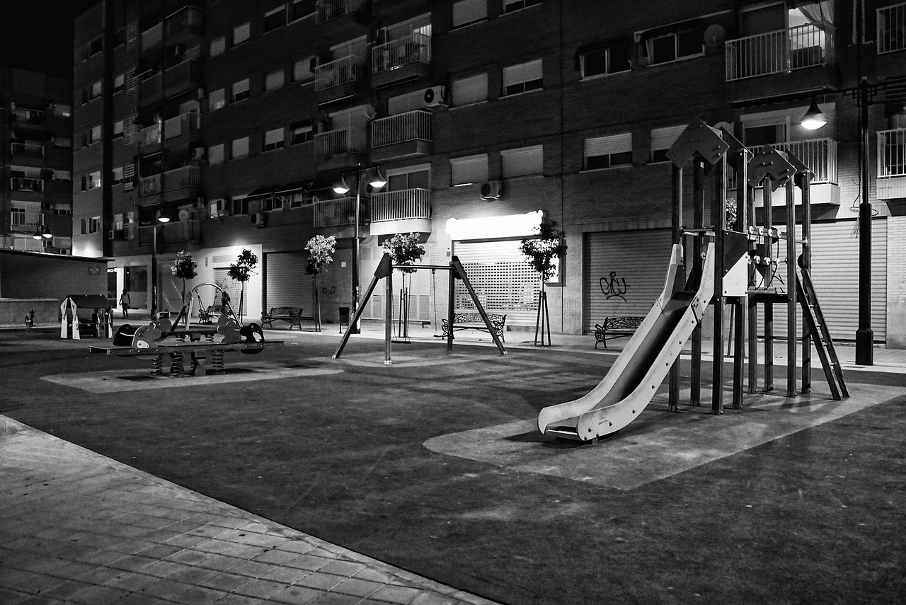 Play Ground at Night.