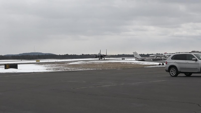 Clip0075   158 taxiing by with three tanks