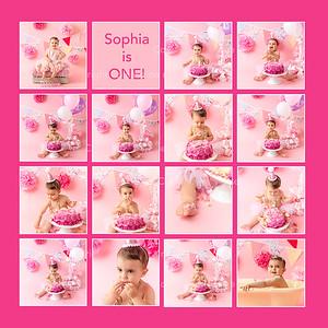 Sophia - Cake Smash